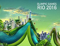 Matte painting- Rio 2016