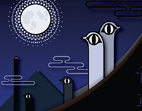 Super Moon Ceremony, Graphic Design