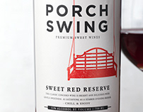 Porch Swing (Oliver Winery) Wine Packaging/Logo Design