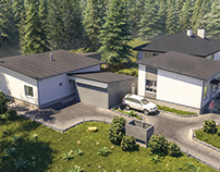 3D Visualisation of Small houses in Finland