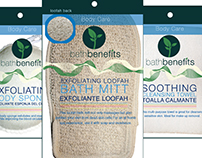 Bath Benefits Branding and Packaging