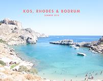 Kos, Rhodes & Bodrum