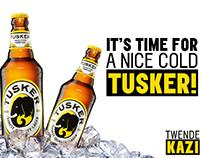 Tusker Lager Social Caledar November 2015