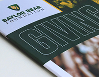 Baylor Bear Foundation Giving Guide (2018)