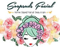 Brand Design I: Soapsuds Facial