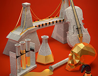 Sherlock Holmes 3D Posters