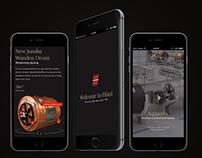 Huni UI/UX Website design