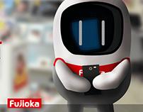 Mascote Byte Fujioka_ 100mil Fãs