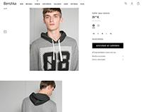 08 & 86 sweatshirt / Bershka Man
