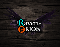 the Raven and Orion UI Visual Mockups