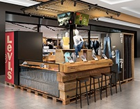 Pop Up Store concept for Levi's