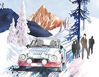 Histo Monte Rallye Poster, February 2015