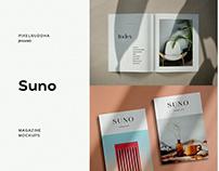 Suno Magazine Mockup KitbyPixelbuddha