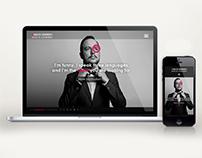 Diseño web y Marca | Karlos Herrero - Actor & Comedian