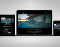 AMG Performance Tour 2017 Website