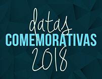 Artes Digitais - Datas comemorativas 2018