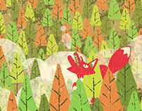 El ciervo en bosque · Agenda 2016
