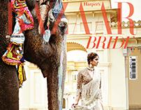 Harpers Bazaar Bride coverstory