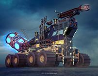 Space Truck 3D concept