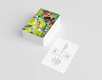 Tropical Invitations Print Design