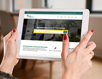 HVAC Web Design / Development + Marketing