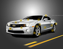 Hotsite Chevrolet Camaro