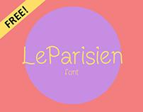 FREE LeParisien Handwritten Font