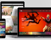 Victoria Theatre | Web Design