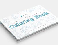Nasdaq Around The World Coloring Book
