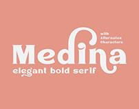 Medina - Serif Font