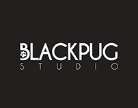 Black Pug Studio - Logo Design