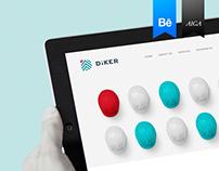Diker Bau Website
