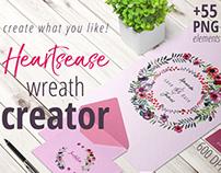 Heartsease Wreath Creator