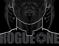 Rogue One (Jyn Erso)- Vector Poster