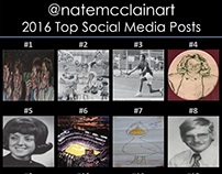 2016 Year in Review: Social Media Posts