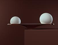 Wave ( Desk Lamp) Nature's perfect balance