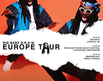 Big Baby D.R.A.M. Europe Tour