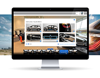 App design, UI & UX Design - BMW
