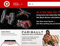 Target Home Page Redesign