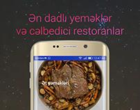 Motion advertisement for FoodLook in Instagram