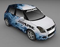 Alpine CAR WRAP