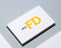 My FD | Visual identity and stationery design