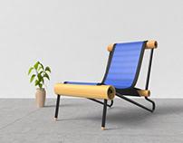 Saaco - A furniture using plastic sack
