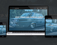 Fully responsive Bootstrap website for cars washing