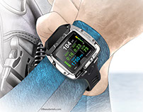 illustrations for Sport Diver Magazine