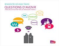 Création Identité SNCF : Print/Scéno/Motion Design