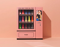 KISS NEW YORK GEL PRO VENDING MACHINE KIT