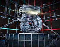 C4D-机械数字
