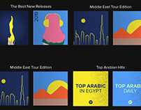 Spotify Motion Graphics.