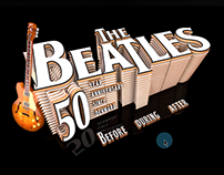 The Beatles - immersive website
